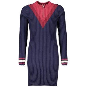 NOBELL meisjes jurk navy blazer maly