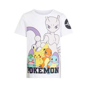 NAME IT jongens t-shirt pokemon bright white nos