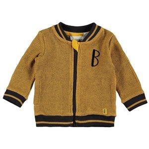BAMPIDANO jongens vest ocre yellow