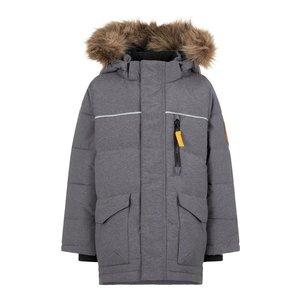 NAME IT jongens jas dark grey melange