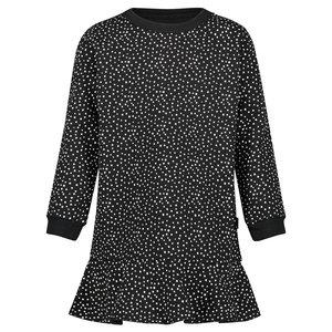 NOPPIES meisjes jurk black cambridge