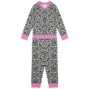 CLAESEN'S meisjes pyjama onesie pink panther