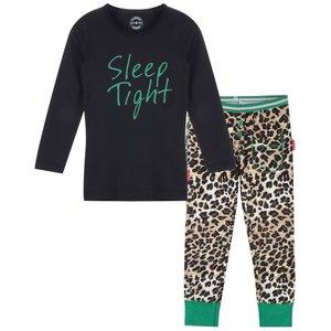 CLAESEN'S meisjes pyjama set brown panther