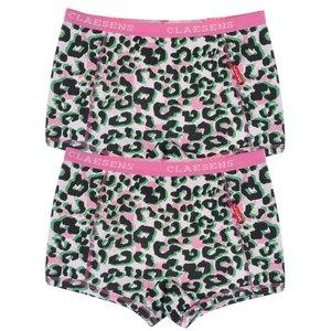 CLAESEN'S meisjes 2-pack boxershorts pink panther