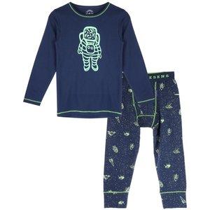 CLAESEN'S jongens pyjama set astro glow