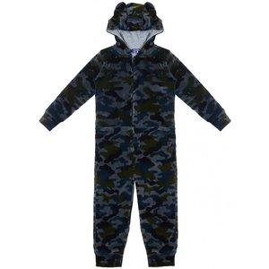 CLAESEN'S jongens pyjama onesie army