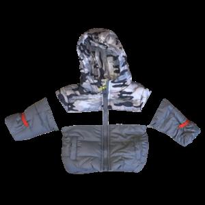 LEMON BERET jongens jas steel gray