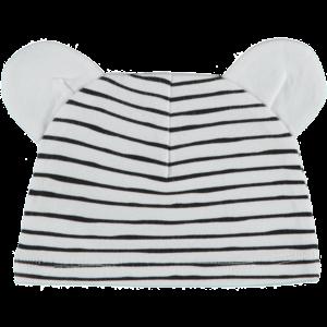 4PRESIDENT jongens muts white/black stripes