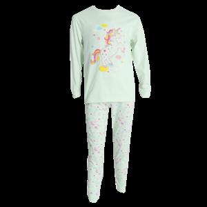 FUN2WEAR meisjes pyjama mint sweet unicorn
