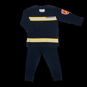 FUN2WEAR jongens pyjama navy brandweer