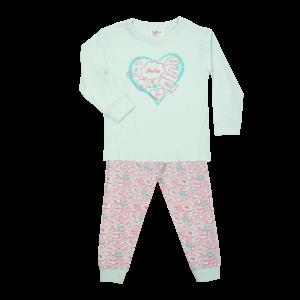 FUN2WEAR meisjes pyjama aqua dream