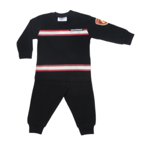 FUN2WEAR jongens pyjama black brandweer