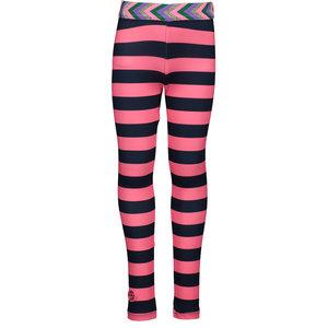 B.NOSY meisjes legging pink stripe