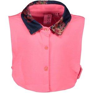 B.NOSY meisjes kraag shocking pink