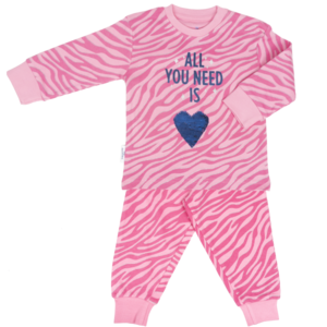 Frogs and Dogs meisjes pyjama print all you need