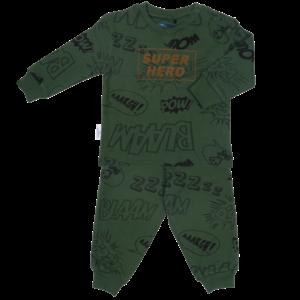 Frogs and Dogs jongens pyjama arona super hero