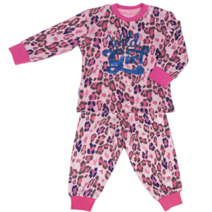 Frogs and Dogs meisjes pyjama print wild girl
