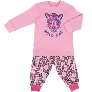 Frogs and Dogs meisjes pyjama rose shadow wild girl