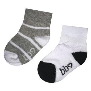 BEEBIELOVE unisex sokken grey nos