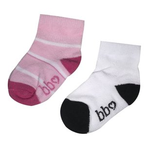 BEEBIELOVE meisjes sokken pink nos