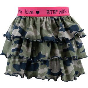 BORN TO BE FAMOUS meisjes rok ao camo