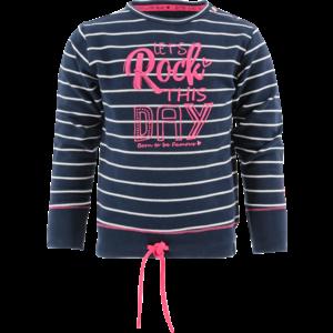 BORN TO BE FAMOUS meisjes trui stripes