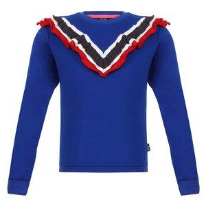 LITTLE MISS JULIETTE meisjes trui blue