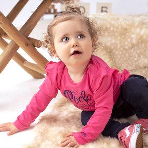 BORN TO BE FAMOUS meisjes longsleeve pink