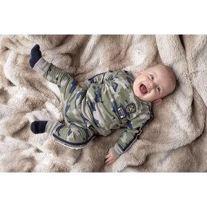BORN TO BE FAMOUS jongens trui ao camo
