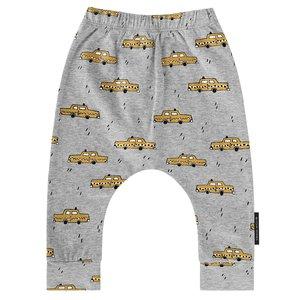 YOUR WISHES jongens baggy broek grey yellow taxi