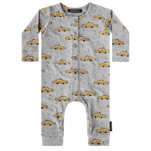 YOUR WISHES jongens boxpak grey yellow taxi
