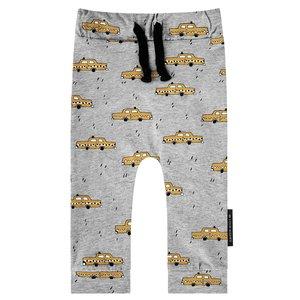 YOUR WISHES jongens joggingbroek grey yellow taxi