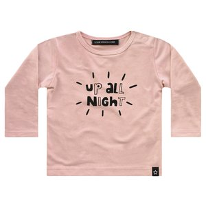 YOUR WISHES meisjes longsleeve pink up all night