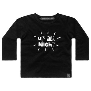 YOUR WISHES longsleeve black up all night