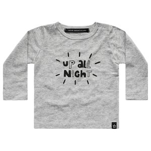 YOUR WISHES longsleeve grey up all night