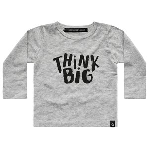 YOUR WISHES longsleeve grey think big