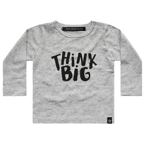 YOUR WISHES Your Wishes  longsleeve grey think big