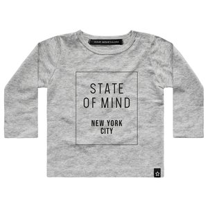 YOUR WISHES longsleeve grey state of mind