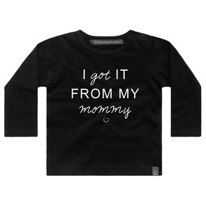 YOUR WISHES longsleeve black i got it from my mommy