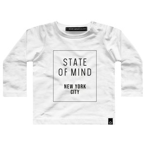 YOUR WISHES longsleeve white state of mind