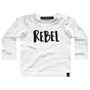 YOUR WISHES longsleeve white rebel