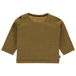 IMPS&ELFS unisex longsleeve sunflower stripe