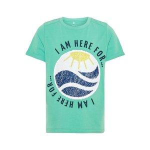 NAME IT jongens t-shirt green spruce