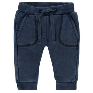 IMPS&ELFS jongens broek indigo blue dyed