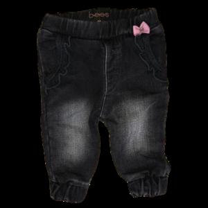 B.E.S.S. meisjes broek black denim
