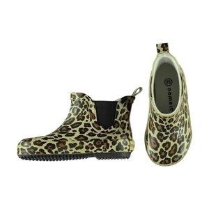 NAME IT meisjes laarzen black  tijgerprint
