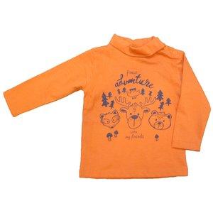 KNOT SO BAD jongens longsleeve adventure orange