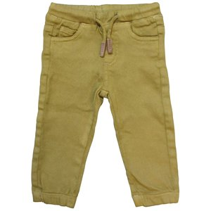 KNOT SO BAD jongens broek tabacco yellow