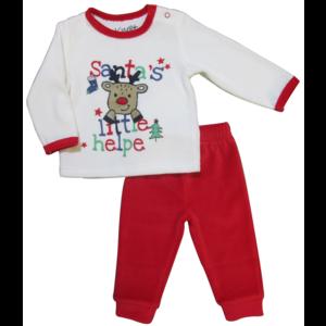 KNOT SO BAD jongens pyjama set santa kerst