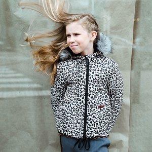 RUMBL meisjes jas leopard
